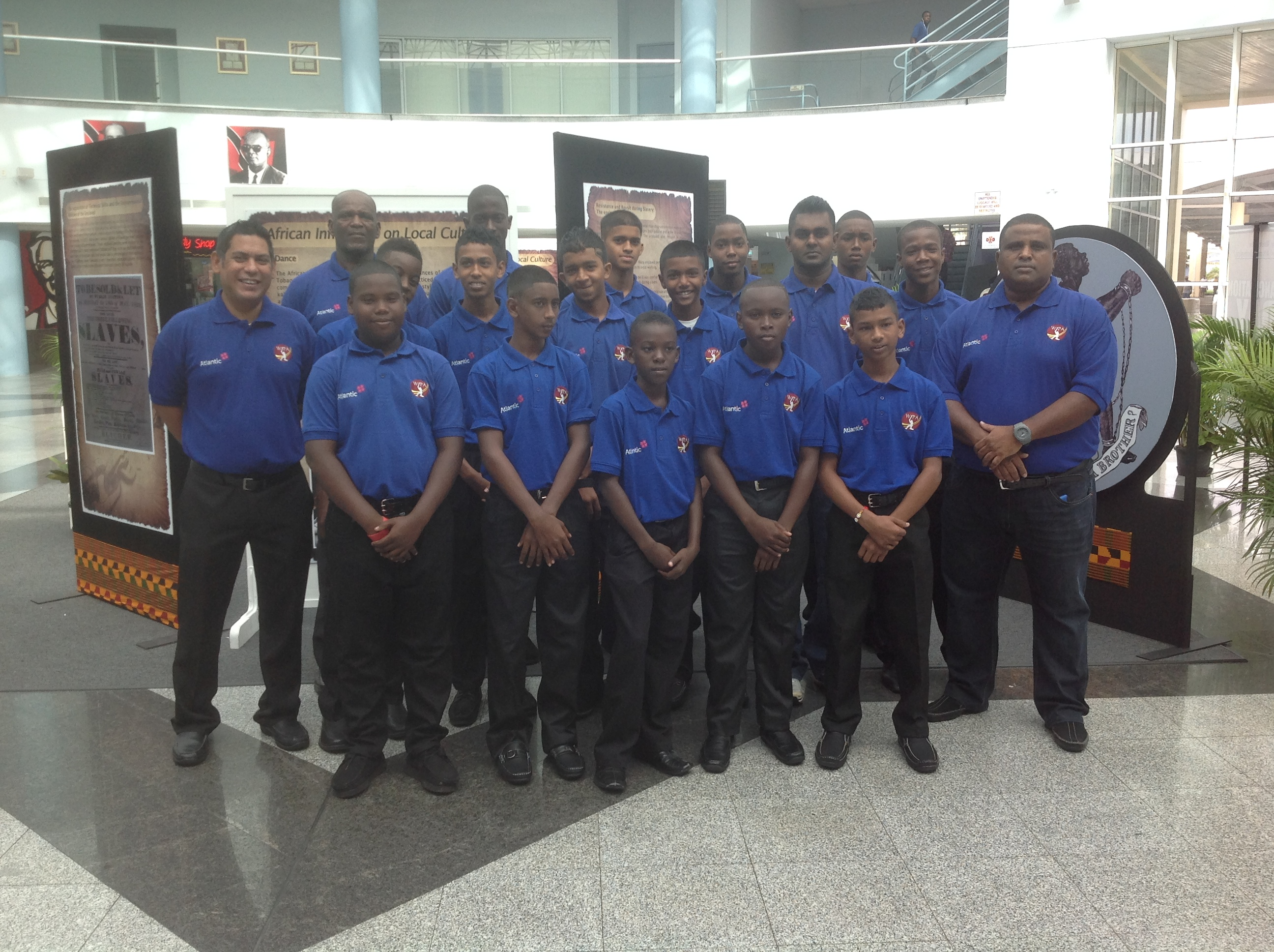 Atlantic WIC Boys to Barbados tour
