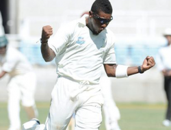 Jamaican Franchise bowler Damion Jacobs