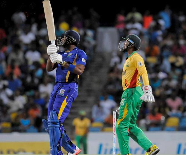 Kieron Pollard Barbados Tridents
