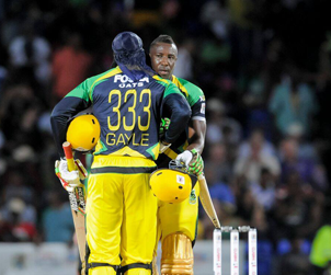 Chris Gayle & Andre Russell
