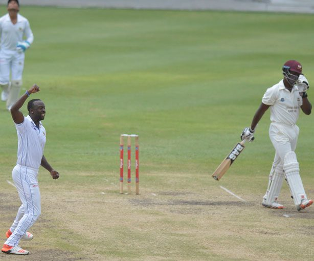 kemar-roach-celebrating-nkrumah-bonner's-wicket