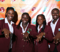 Windies Women with their rings
