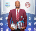 The Big Winner of the Night Roston Chase with his 4 awards