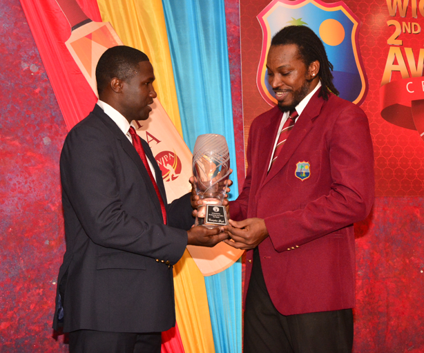 Special Award for Chris Gayle