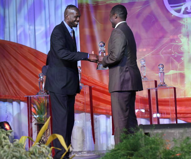 Special Award for Curtly Ambrose