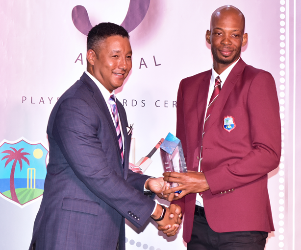 CWI/WIPA Cricketer of the Year Roston Chase