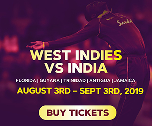 Upcoming West Indies, India T20Is In Florida Break Ticket