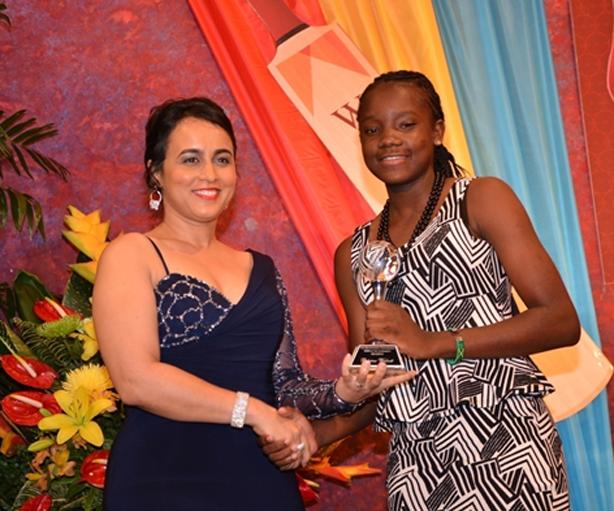 Atlantic/WIPA in the Community Cricketer of the Year Patrina Walcott