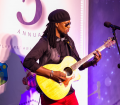 Former West Indies Test Cricketer Omari Banks performing his hit song 'Move On'