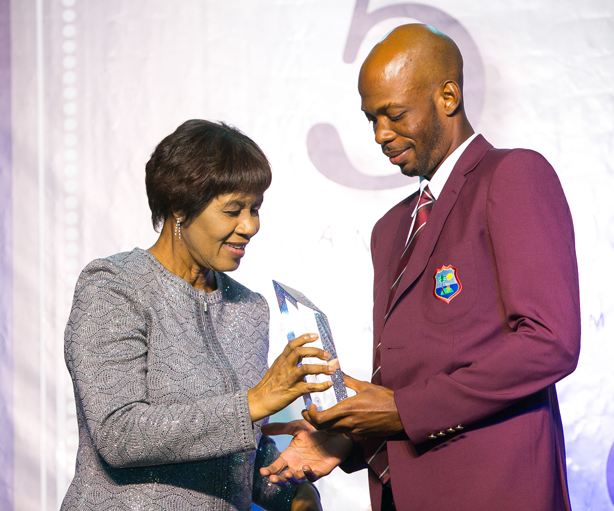 Windies Emerging Cricketer of the Year Roston Chase