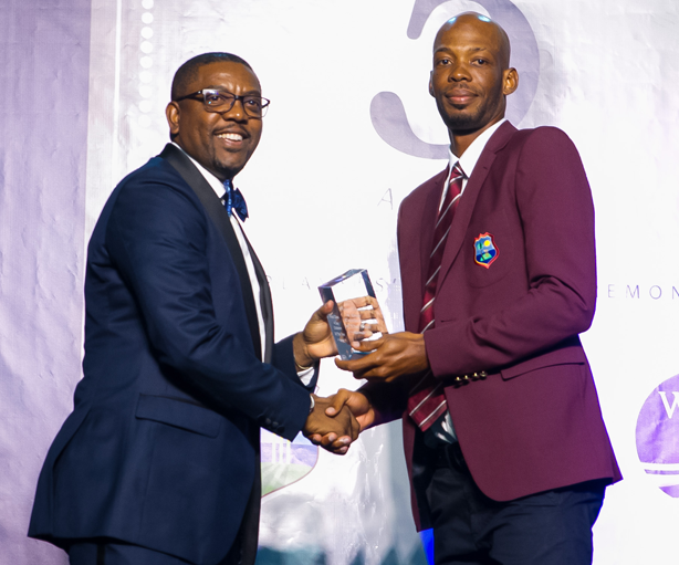 Windies Test Cricketer of the Year Roston Chase