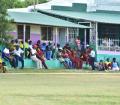 Spectators at the Kensington Cricket Club